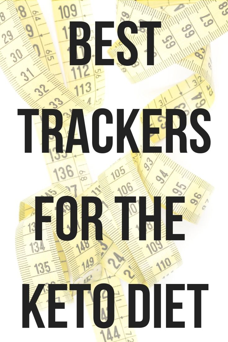 measuring tape with text on top for best trackers for Keto Diet