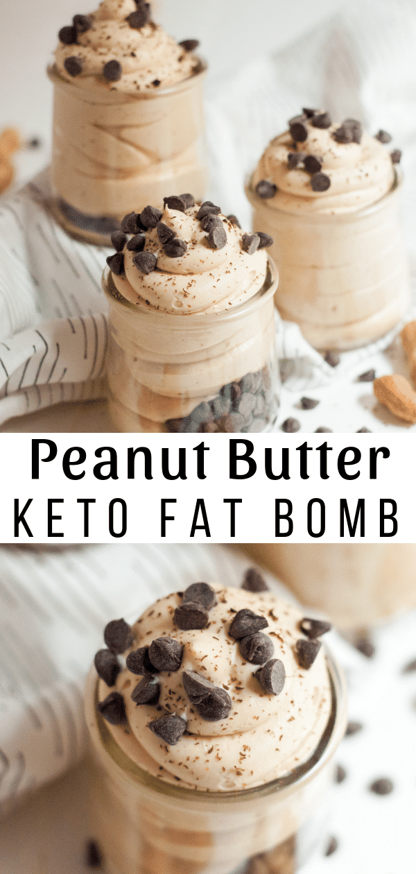 This delicious Peanut Butter Fat Bomb recipe will make you forget you are eating keto. It's one of the very best Fat Bombs I've ever eaten. #keto #lowcarb