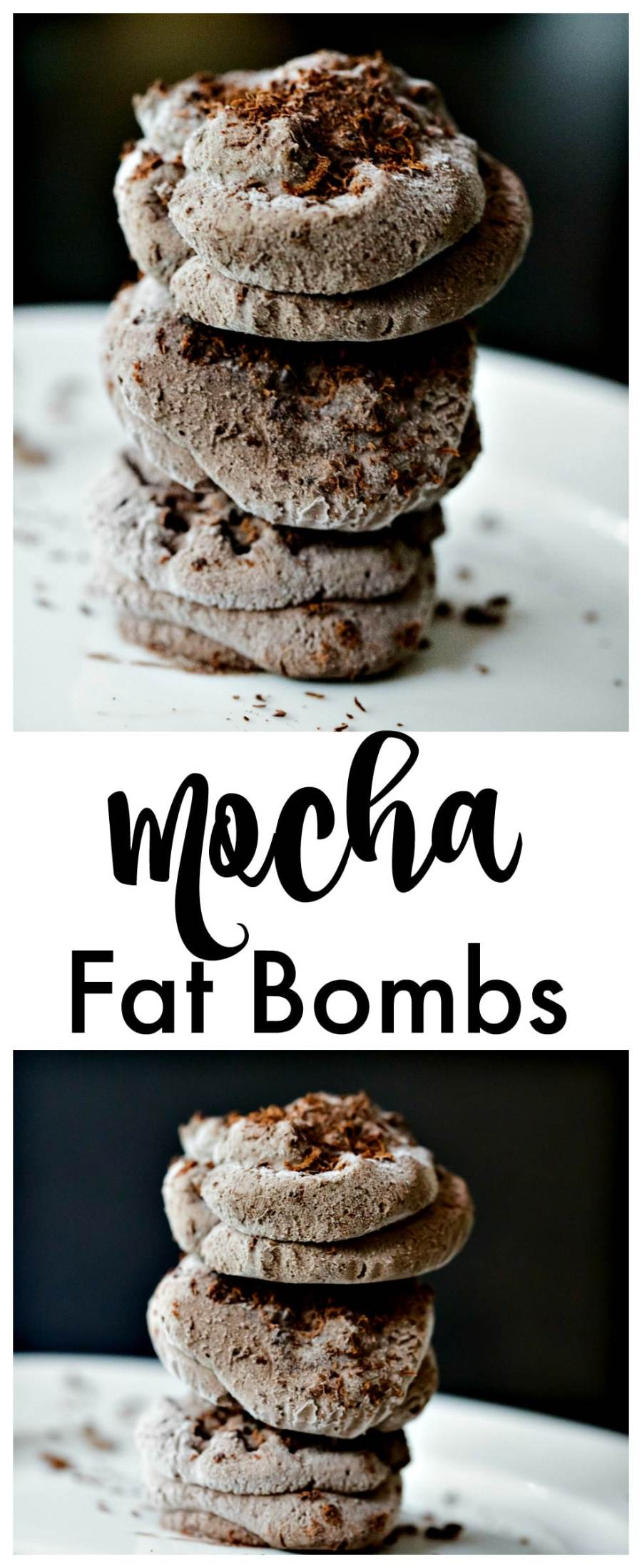 Mocha Chocolate Fat Bombs are delicious keto-friendly sweet treats that don't go over your macros! Make our low carb fat bombs in minutes and serve up to your friends and family, or sneak for yourself when nobody is looking!