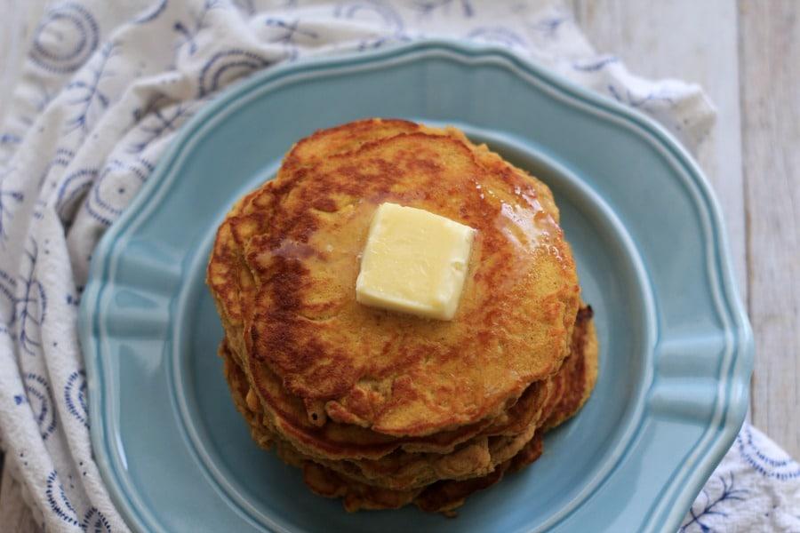 Low Carb Pumpkin Pancakes