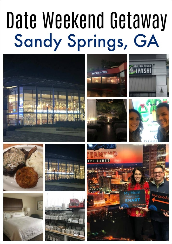 Sandy Springs, GA is conveniently located to Atlanta but it has more of small town feel with incredible local restaurants, shopping, a performing arts center and more. #TRAVEL #TRAVELBLOGGER