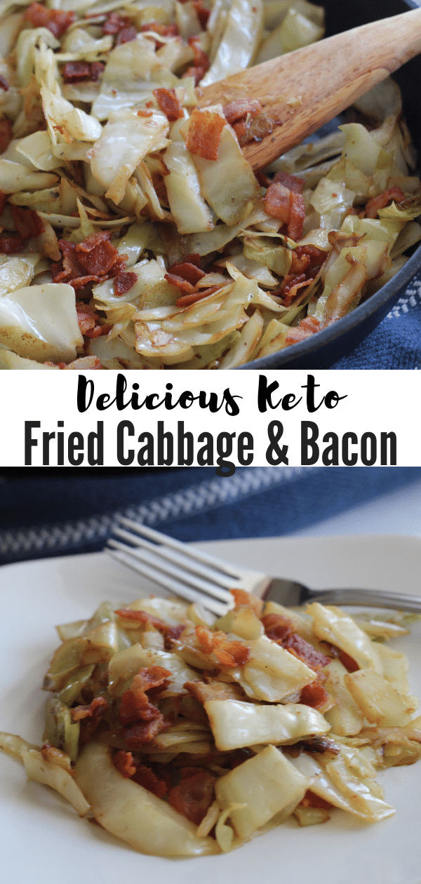 If you're looking for a delicious side dish that is certain to please, you won't want to miss out on this Keto Fried Cabbage with Bacon!