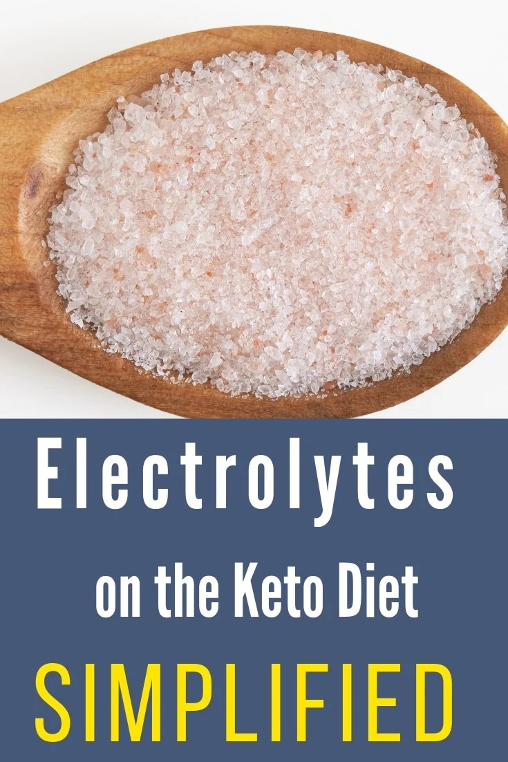 Electrolytes on the Keto Diet Simplified & Explained #keto #lowcarb