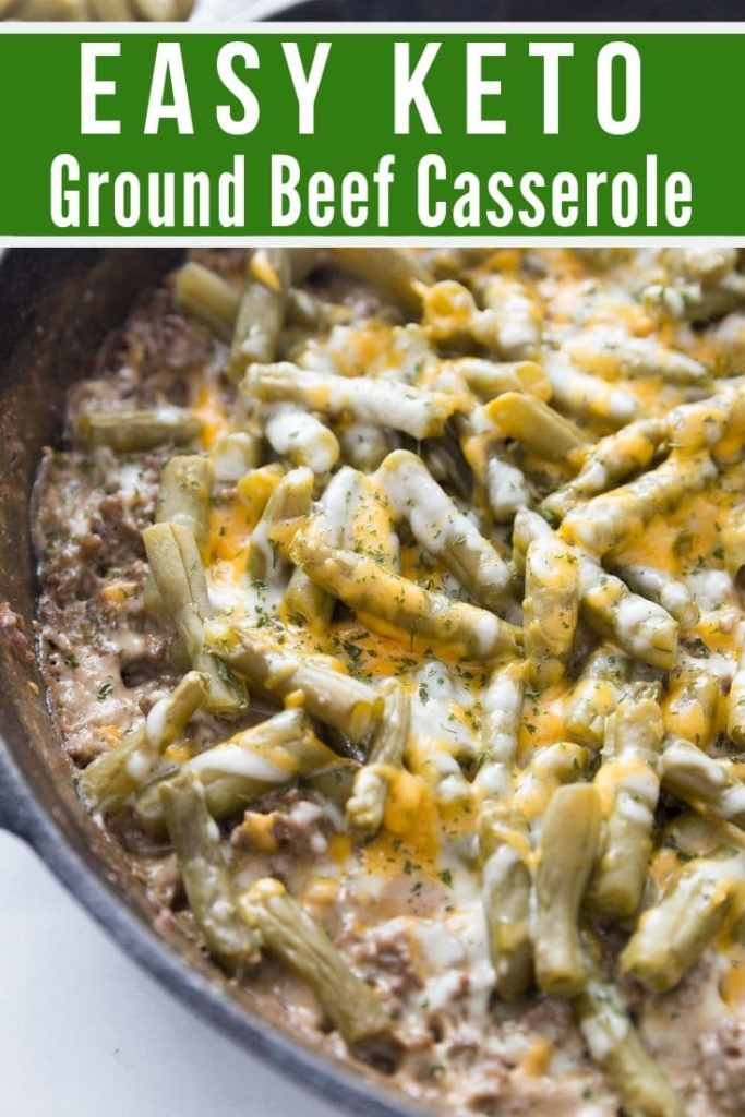 KETO GROUND BEEF CASSEROLE: PERFECT COMFORT DISH