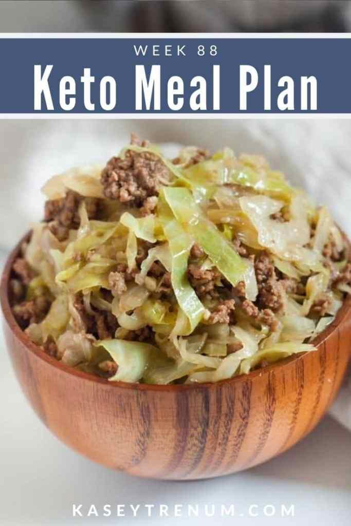Keto Cabbage Stir Fry Meal Plan