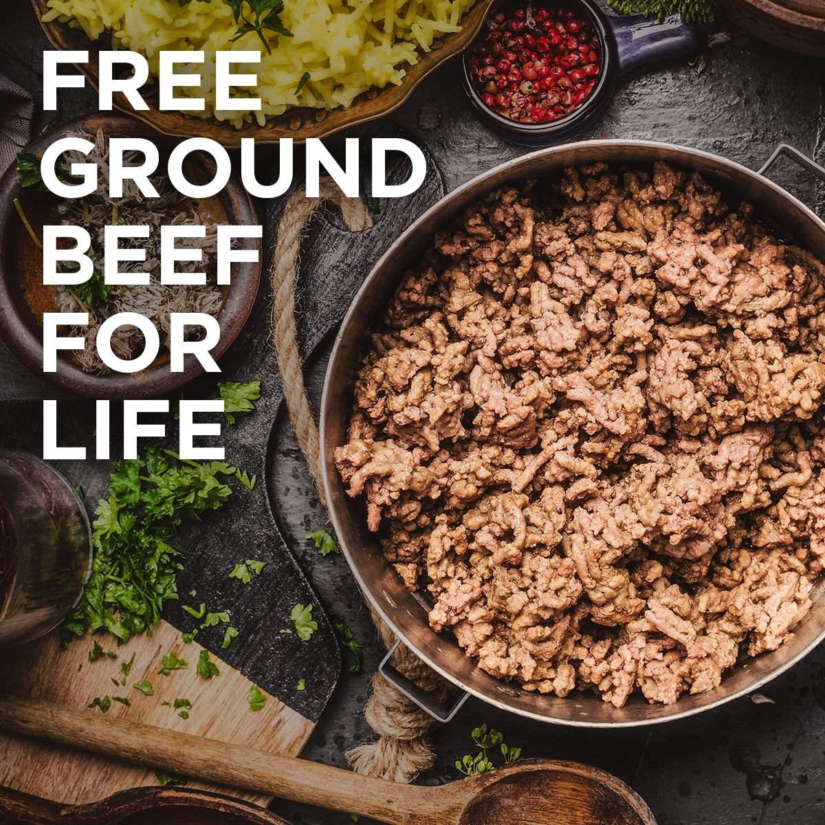 ButchrBox free ground beef for life
