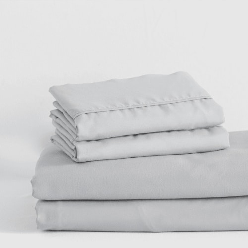 Folded White Sheets