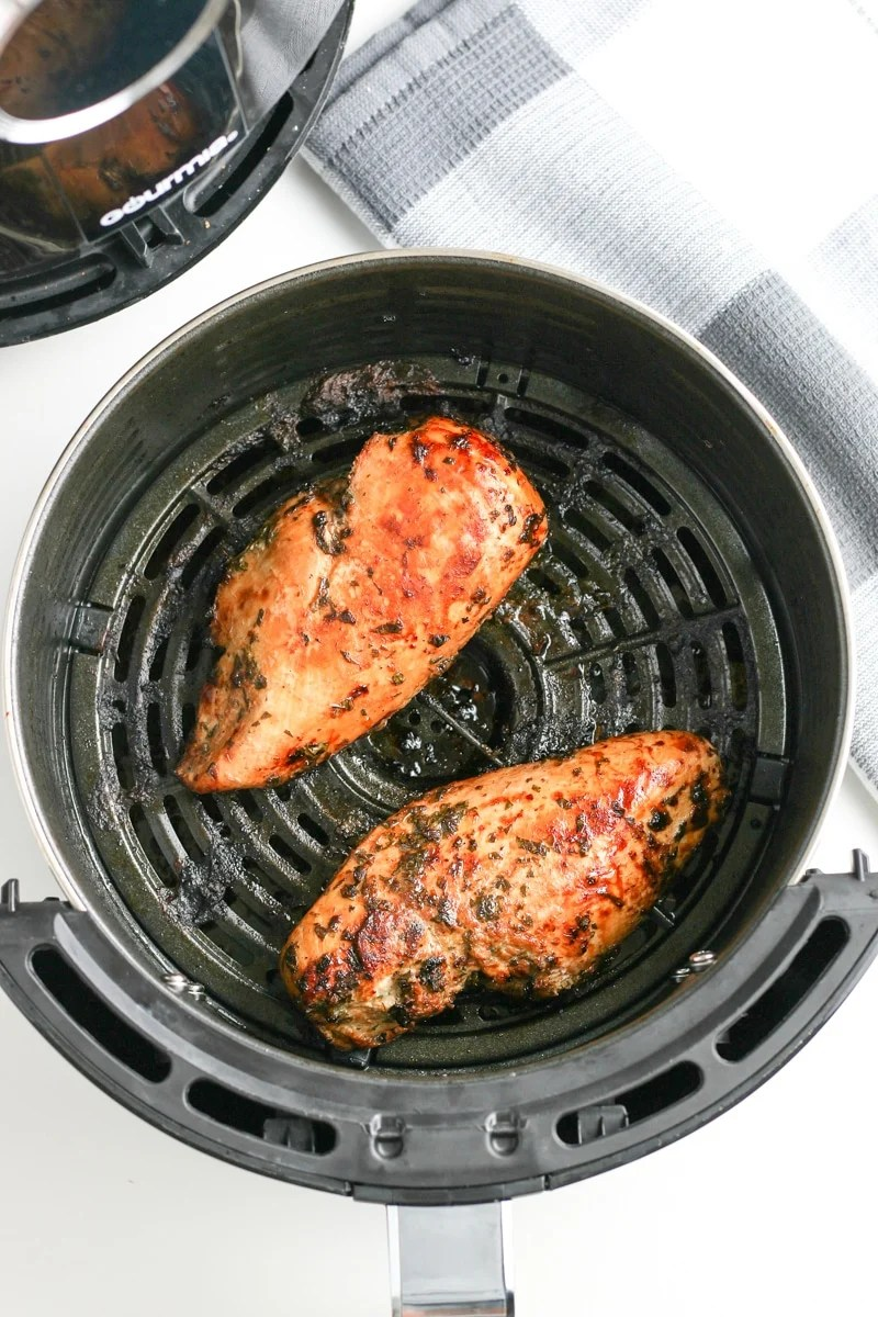 chicken breasts in the air fryer