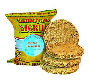 хлебцы Самарские -- рисово-гречневые