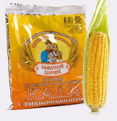 Самарский Здоровяк №65 пшенично-кукурузная