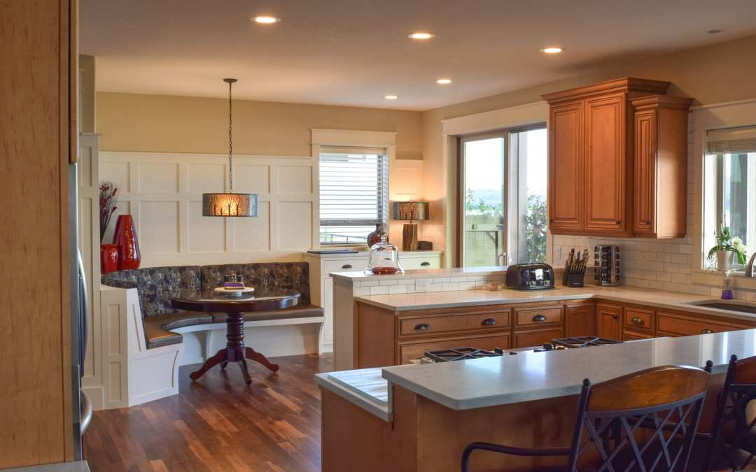 Radius Banquette and Kitchen Expansion