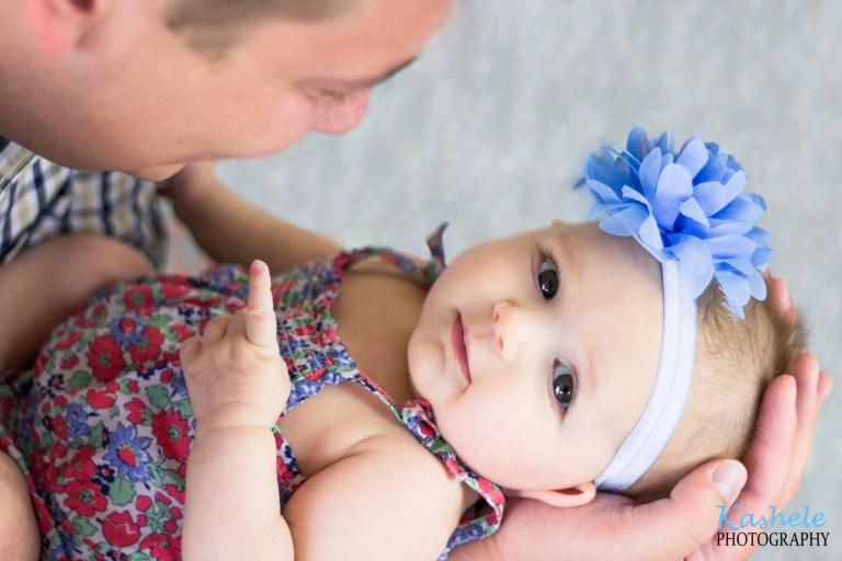 Baby Thomas 3 Month Session | NSL Utah Family Photographer | Kashele Photography