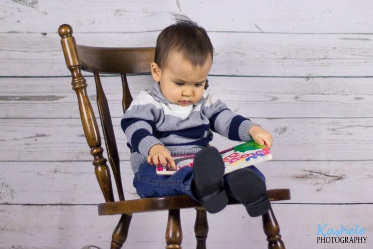18 Months, Little Boy | NSL Utah Family Photographer | Kashele Photography