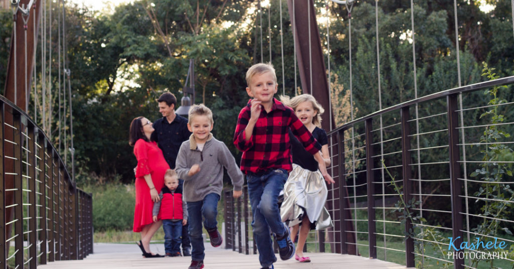 Image of kids running on the bridge for Hydatidiform Molar Pregnancy Post