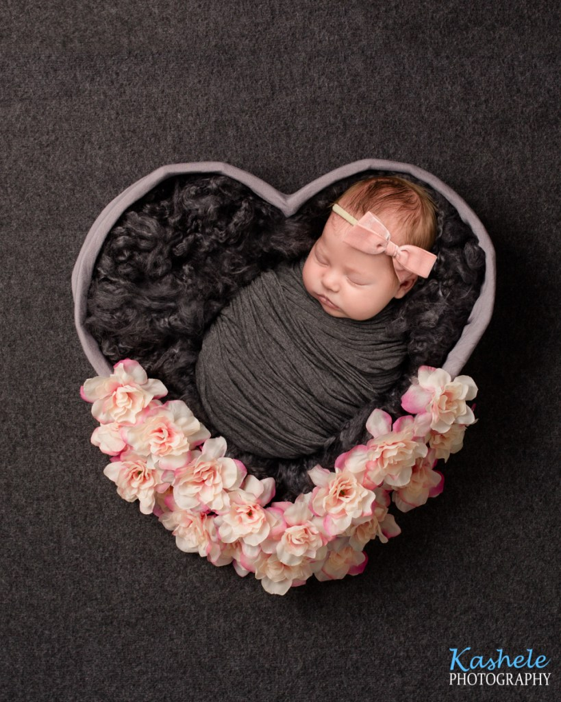 Heart bowl for Utah County Newborn Photography Post