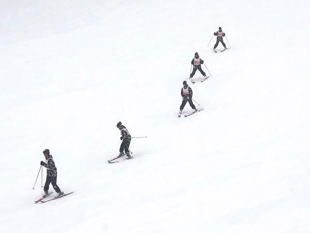 【1年生 スキー教室】3日目講習 その2