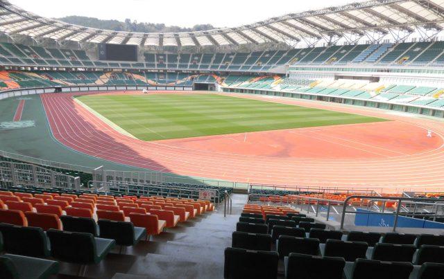 エコパ 屋根 座席 Shizuoka Stadium Ecopa RWC 2019
