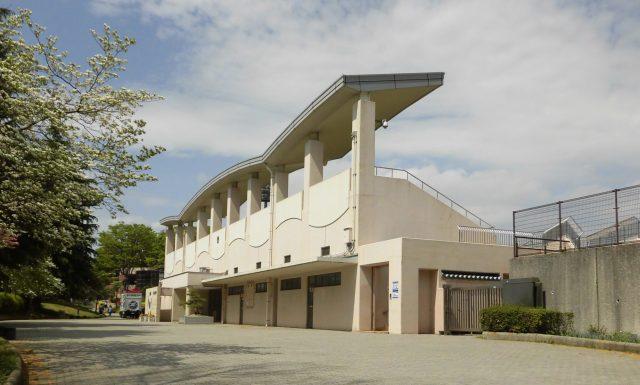 保土ケ谷公園サッカー場 メインスタンド 横浜FC 練習試合 町田ゼルビア