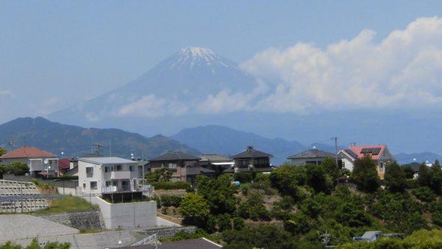 日本平スタジアム 景色 眺め 展望 富士山