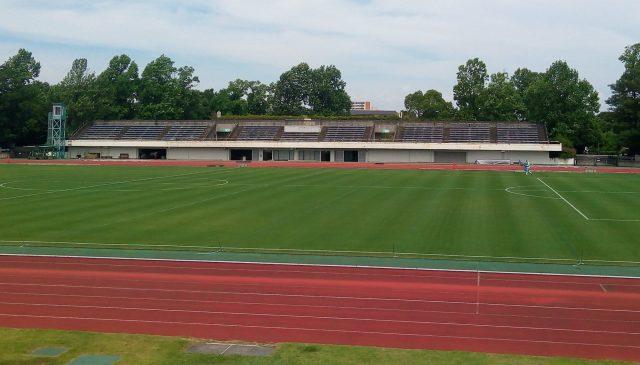 多摩市立陸上競技場 メインスタンド 老朽化 改修