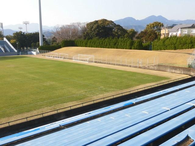 草薙球技場 改修