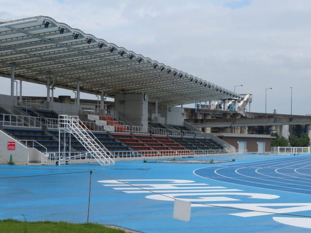 柳島スポーツ公園 陸上競技場 ベルマーレ アクセス