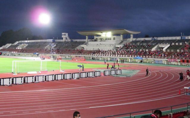 札幌厚別競技場 屋根 コンサドーレ札幌 ナイトゲーム
