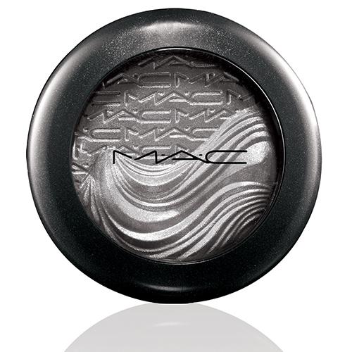 mac in extra dimension eyeshadow evening grey