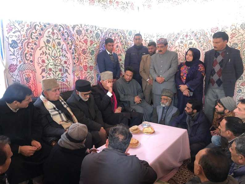 Friendly relationship of both nations will solve Kashmir issue NC President