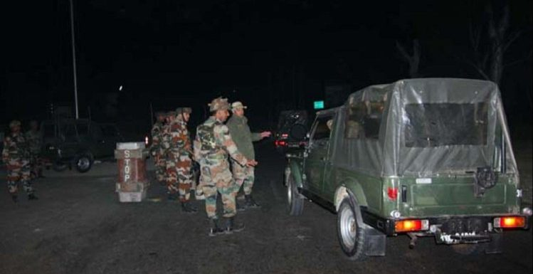Forces launch nocturnal CASO in South Kashmir's Tral