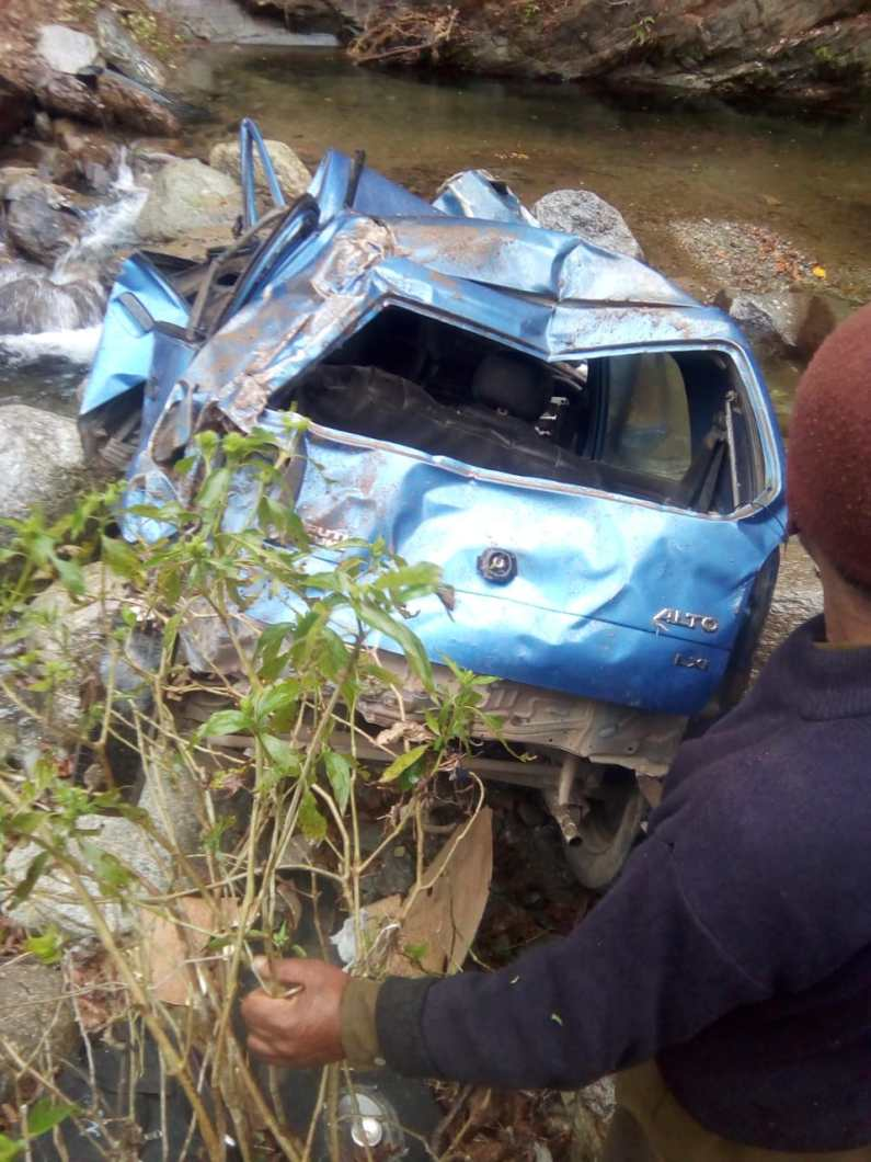3 from J&K die in Himachal's Chamba as car falls into gorge