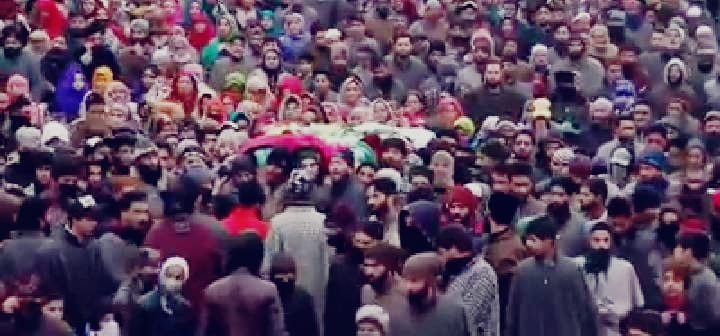 Multiple funerals offered to 6 militants amid shutdown in Shopian, Pulwama