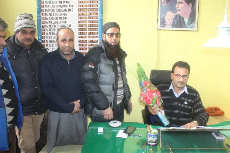 Sopore Executive Officer Assumes Charge