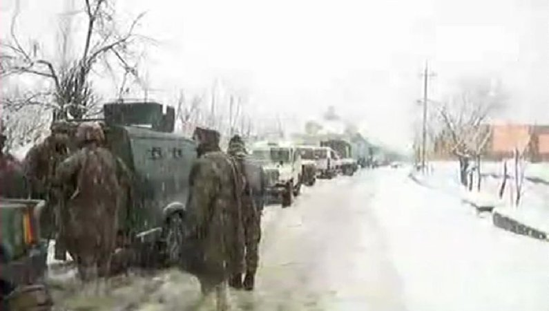 Forces launch search operation in Kashmir's Capital