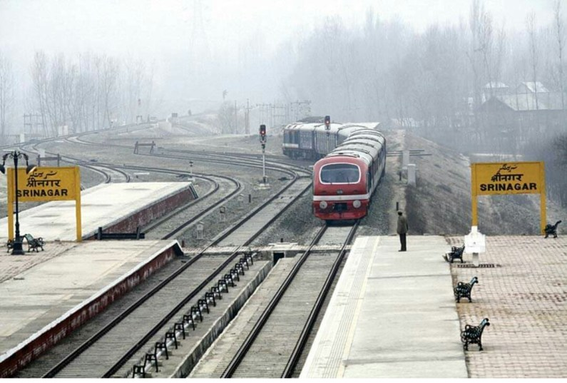 Trains to run from Banihal Srinagar to only today
