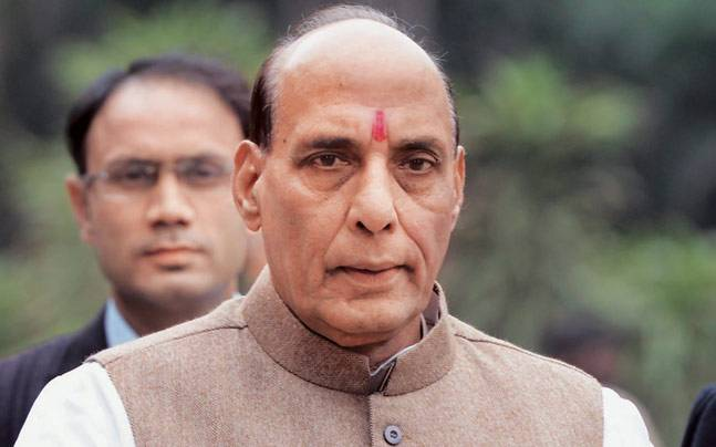 Will root-out terror from Kashmir soil: Rajnath Singh
