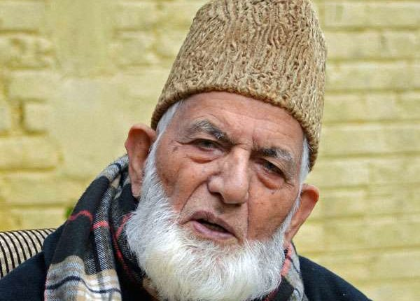 Geelani pledges to take Kashmir struggle to 'logical conclusion'