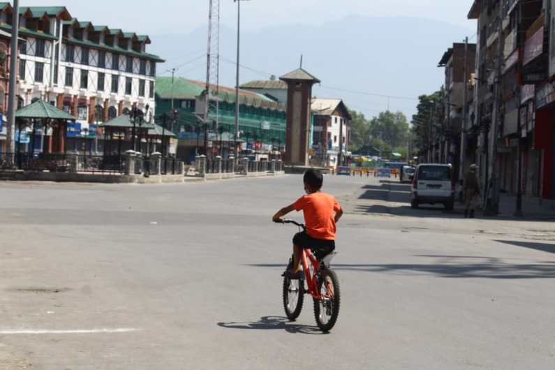 Security Stepped up Across Kashmir Ahead of Independence Day