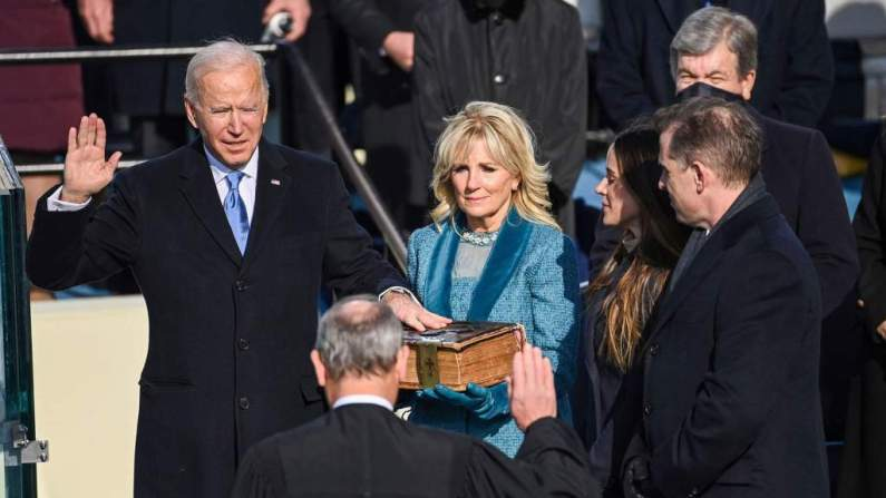 'Democracy has prevailed': Joe Biden sworn in as 46th US President