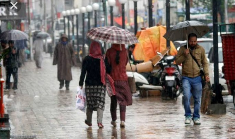 MeT Predicts 'Good Monsoon Shower' From July 28-30 in J&K