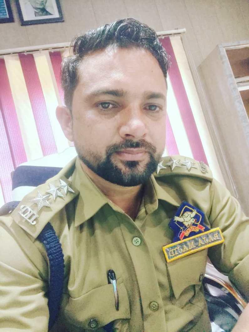 An officer with a golden heart