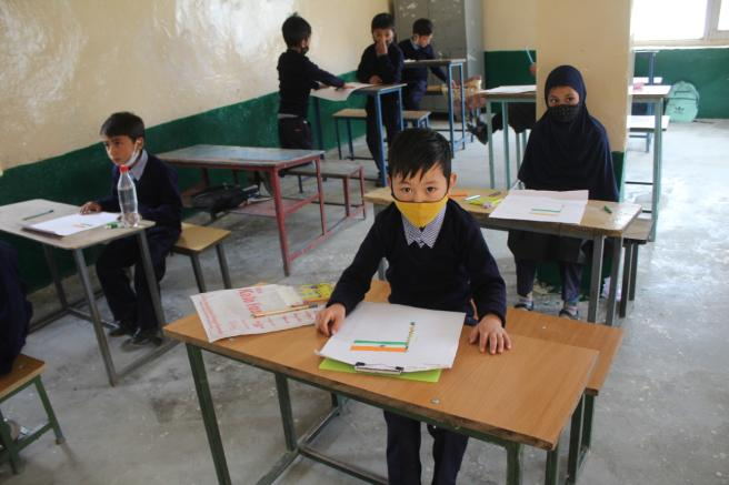DRAWING COMPETITION AT ARMY GOODWILL SCHOOL , FARONA