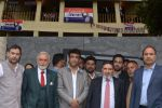 Altaf Bukhari visits Apni Party District Office Baramulla