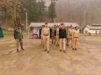 3 J&K Bn NCC Conducting NCC Camp At Boniyar In Border Town Of North Kashmir