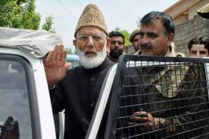 Stop dotage rhetoric and accept ground realities: Gilani called to India