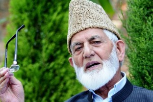 "Geelani's son refutes rumours about father's death: ""He is stable"""