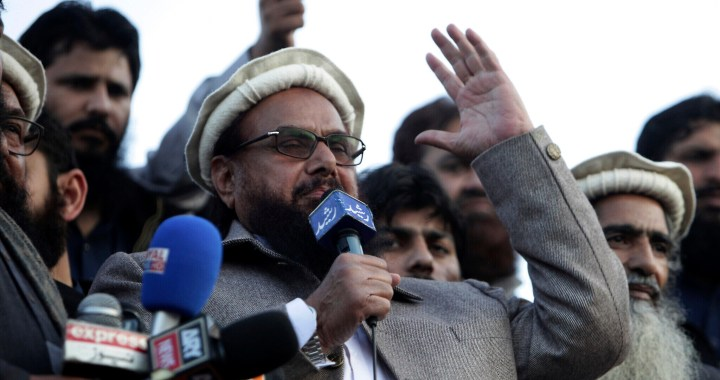 Militant Outfit Hafiz Saeed sentenced to 11 Year's jail for terror-financing