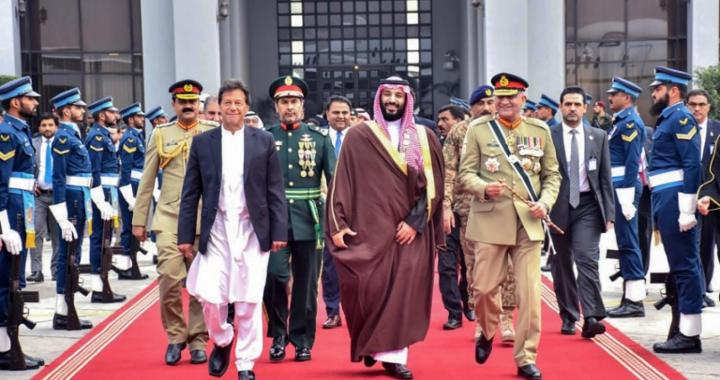 The Saudis reject Islamabad's request to call an OIC's foreign minister meeting on Kashmir.