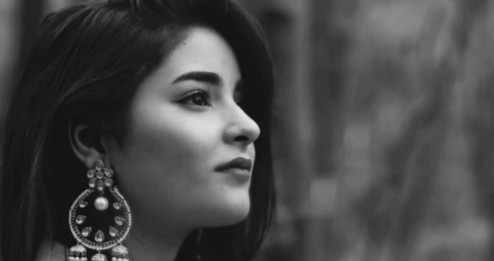 Our voices have been silenced: Zaira Wasim