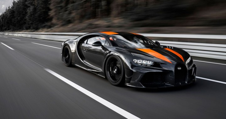Top 10 fastest cars ever made in the world in 2021